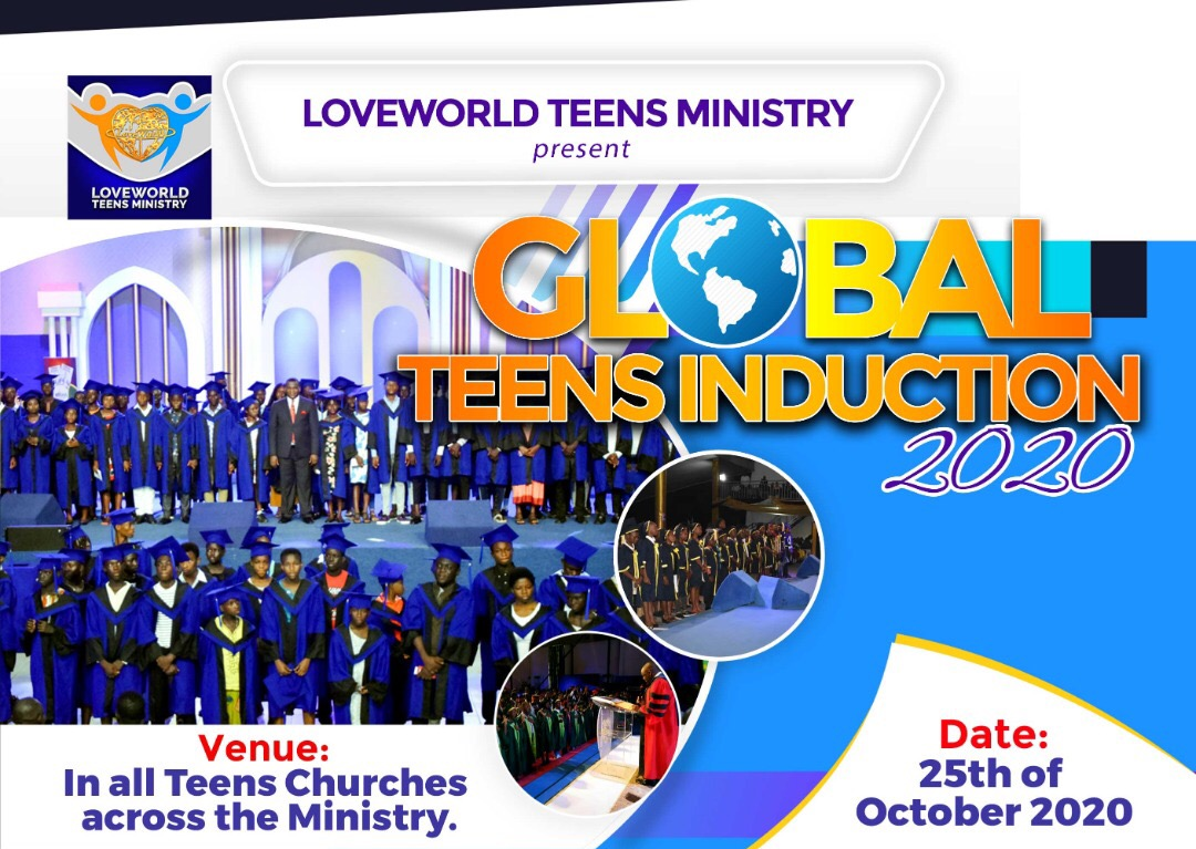 🌍Global Teens Induction Service 2020