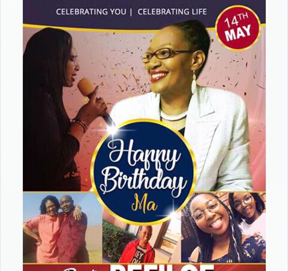 Happy Birthday Pastor Refiloe Khalidzwe!