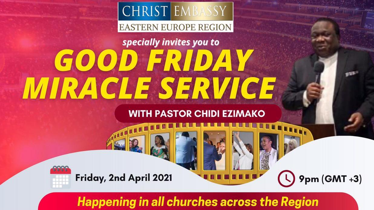 Good Friday Miracle Crusade 🙏🏾🙏🏾🙏🏾🙏🏾