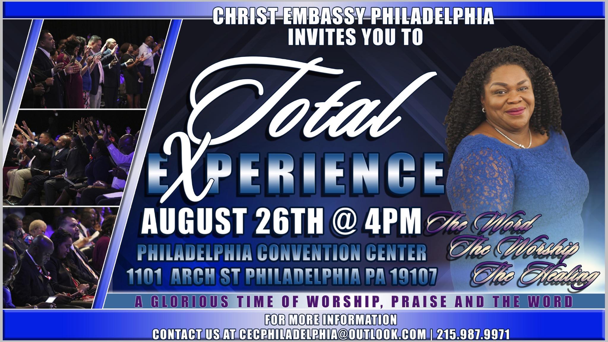 Total Experience Philadelphia.... Extending the