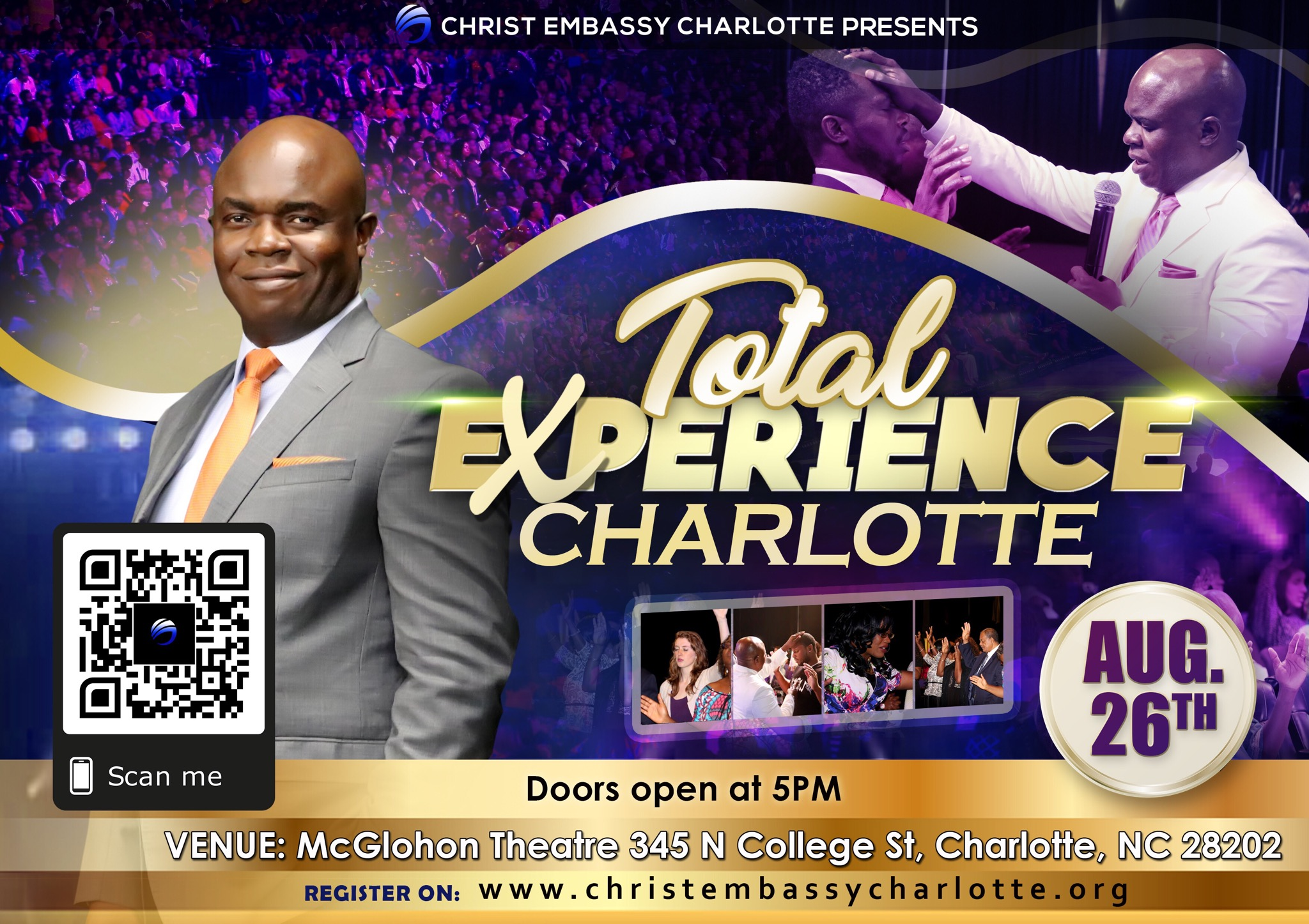 Total Experience happening across the
