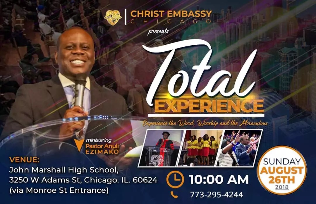 Total Experience Chicago.... Bringing the