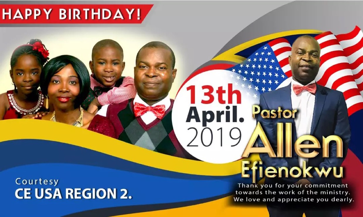 Happy Birthday Pastor Sir! #cemiami
