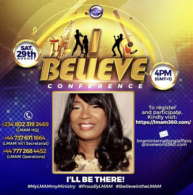 🔥LMAM I BELIEVE CONFERENCE 💃💃