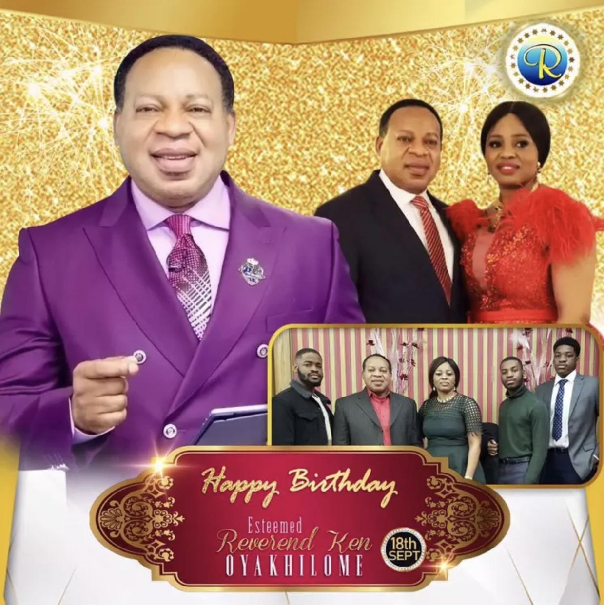 Happy Birthday Rev!!! God has