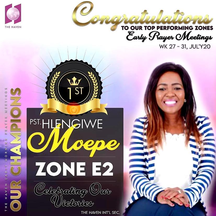 #HavenZE2 #Prayer #Champions 3 weeks