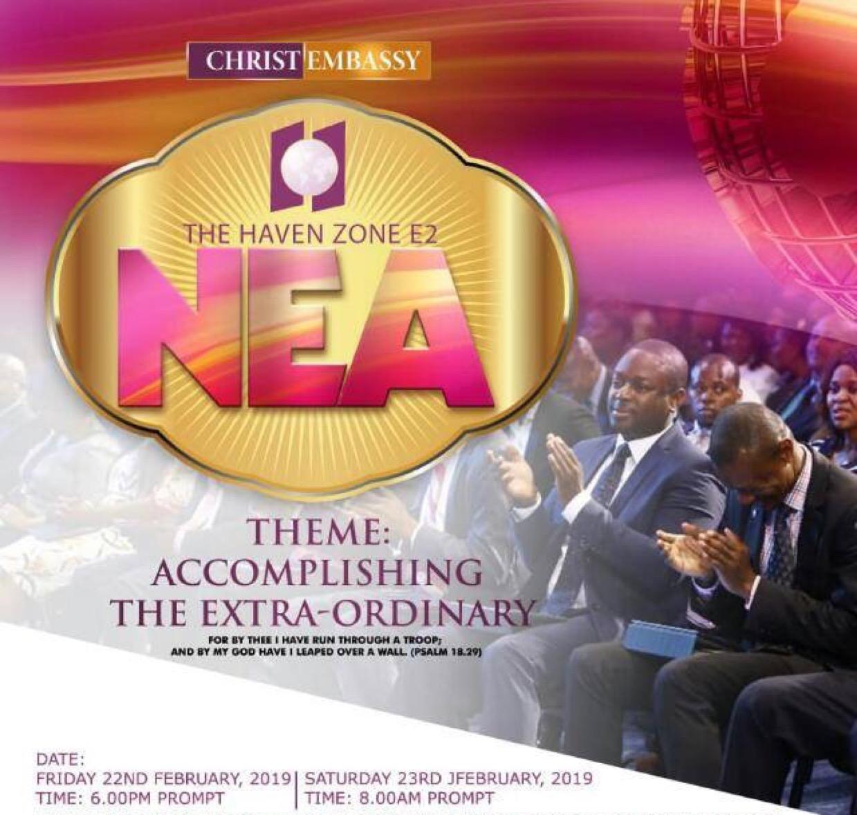 #prayingnow #NEA2019 #TheHavenZoneE2NEA2019 #TheH