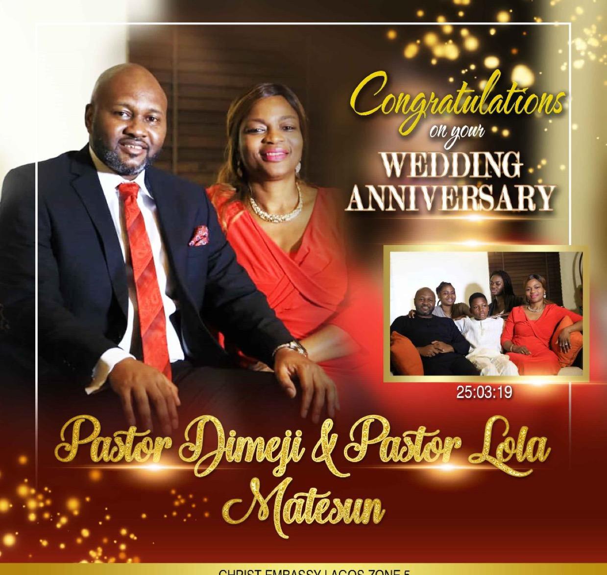 HWA Pastors Dimeji and Lola