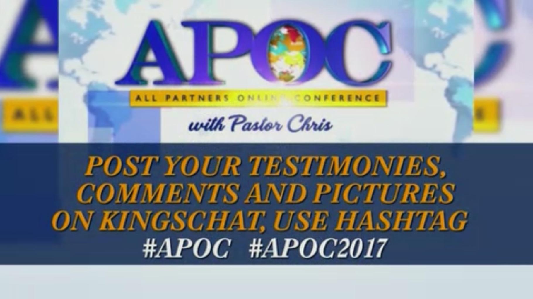 #APOC #APOC2017