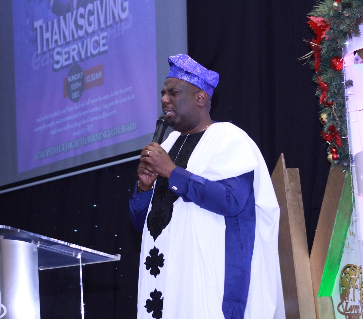 THANKSGIVING SERVICE 2019 Psalms 103:2