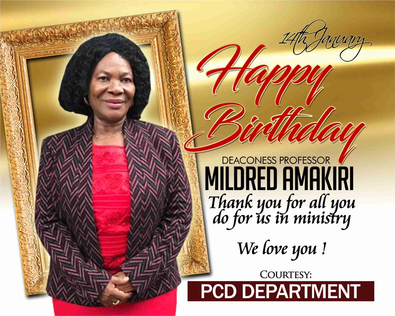 Happy Birthday Esteemed Dcns Amakiri
