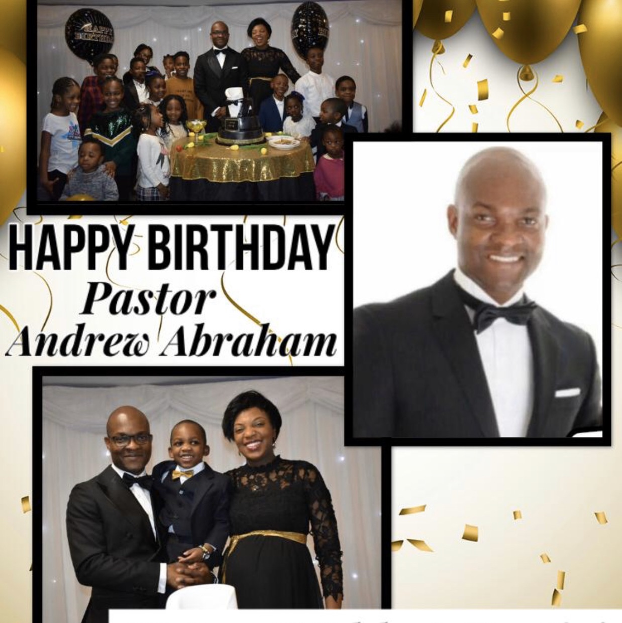 Celebrating my Pastor and mentor