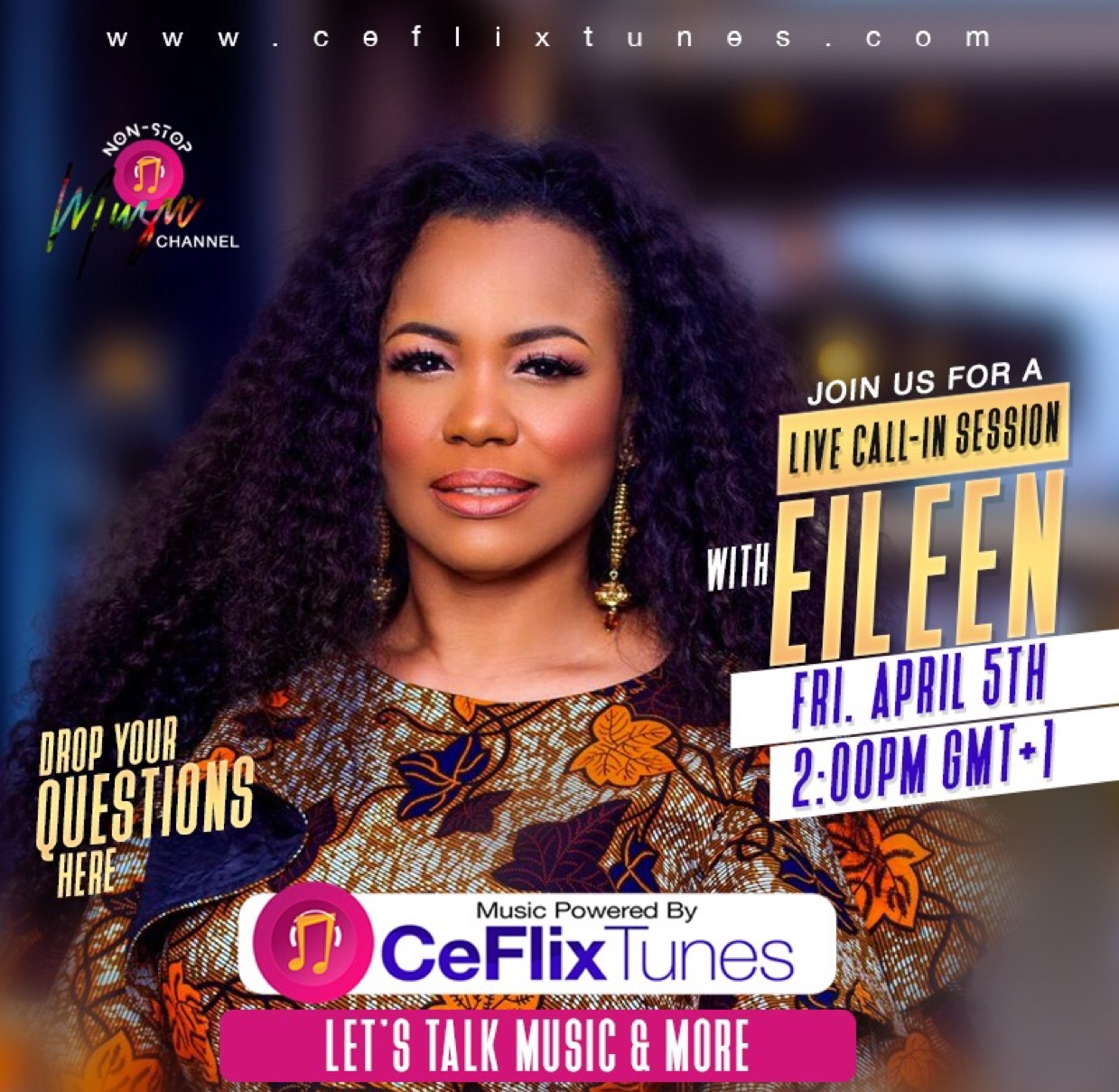 Tune in to CeFlix Tunes
