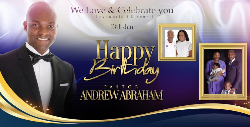 HAPPY BIRTHDAY ESTEEMED PASTOR ANDREW
