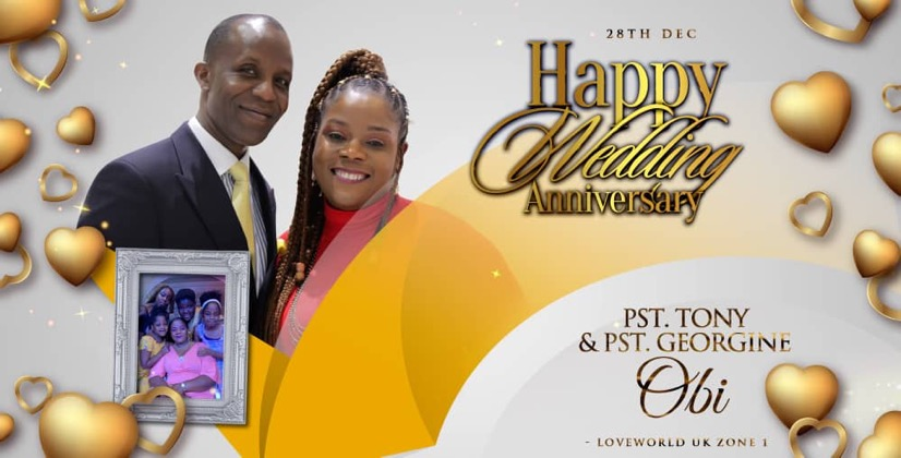CELEBRATING YEARS OF LOVE AND