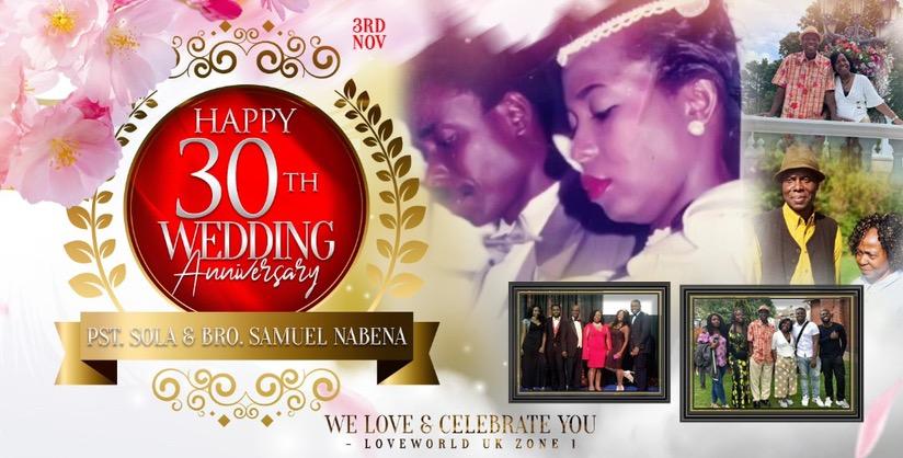 STILL CELEBRATING!!! HAPPY WEDDING ANNIVERSARY