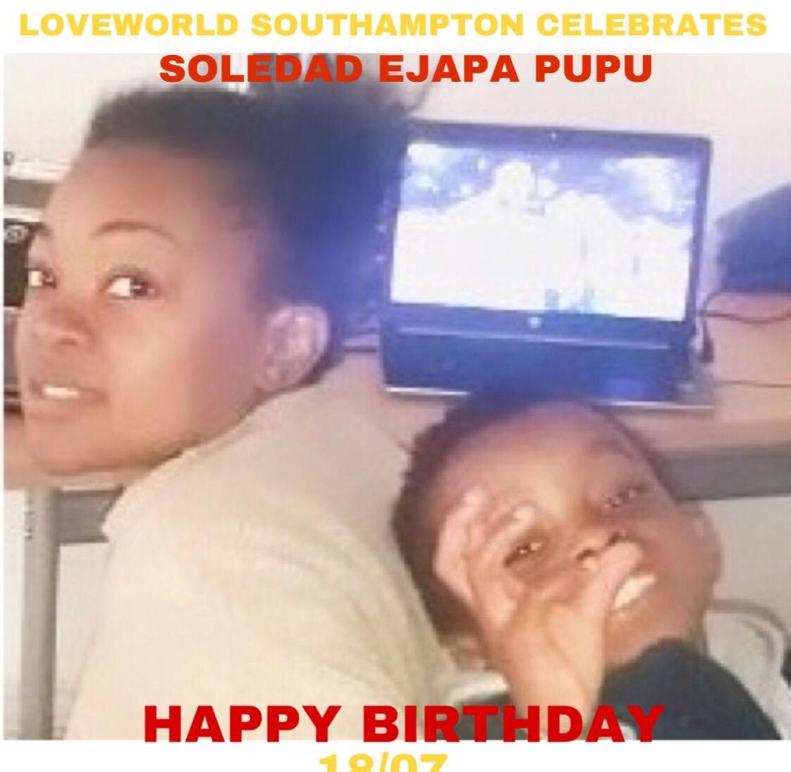 Happy birthday Sis Soledad, 🎉🎉🙌🏾💃🏾may