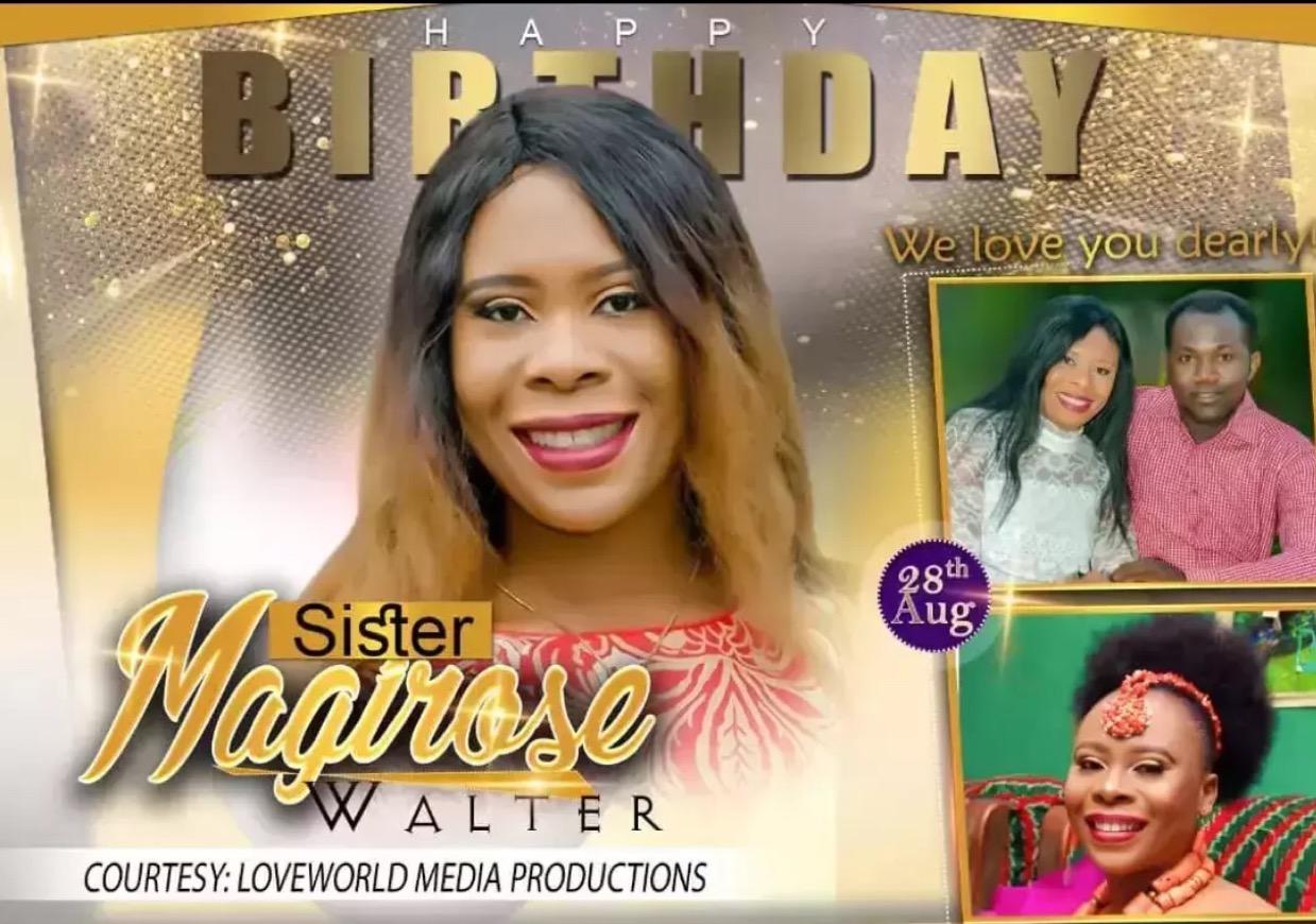 Happy Birthday Sister @magirose Thank