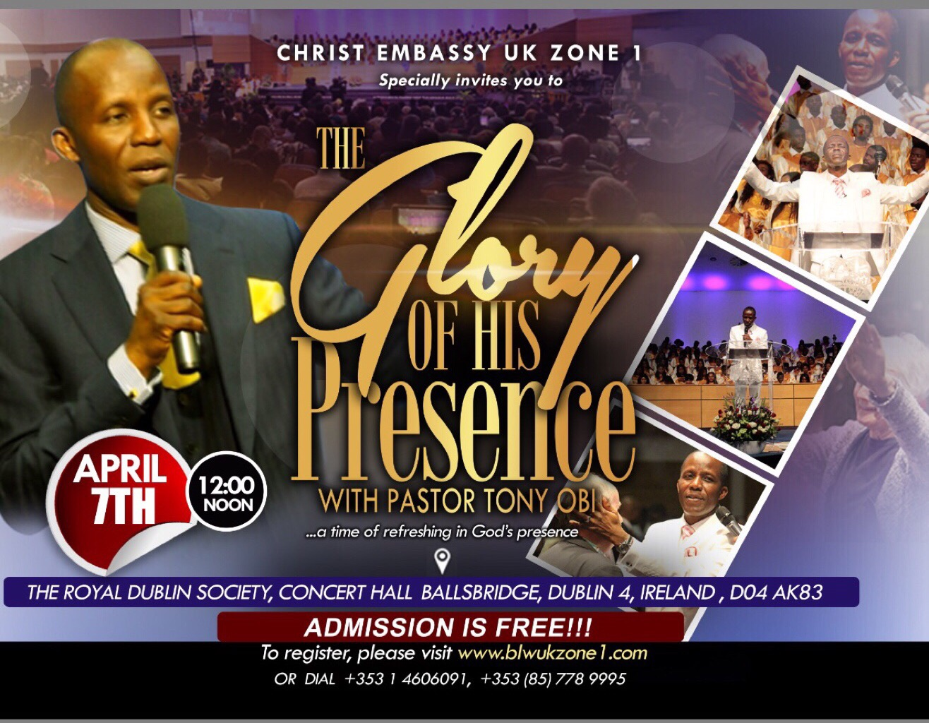 The presence of God is