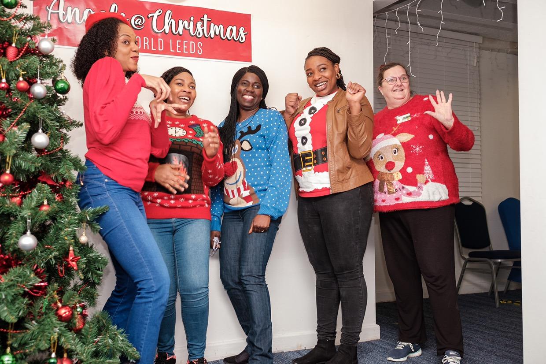 Angels @ Christmas at LOVEWORLD
