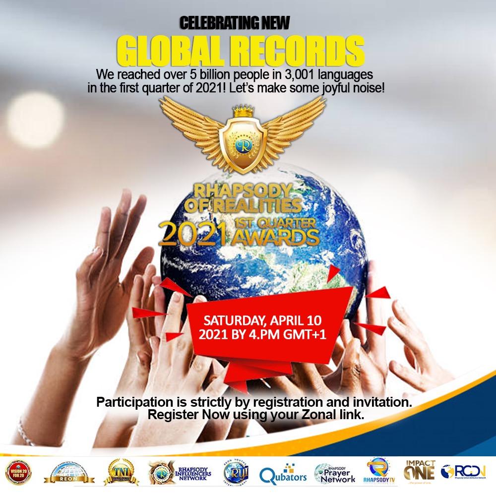 📣📣📣CELEBRATING NEW GLOBAL RECORDS: