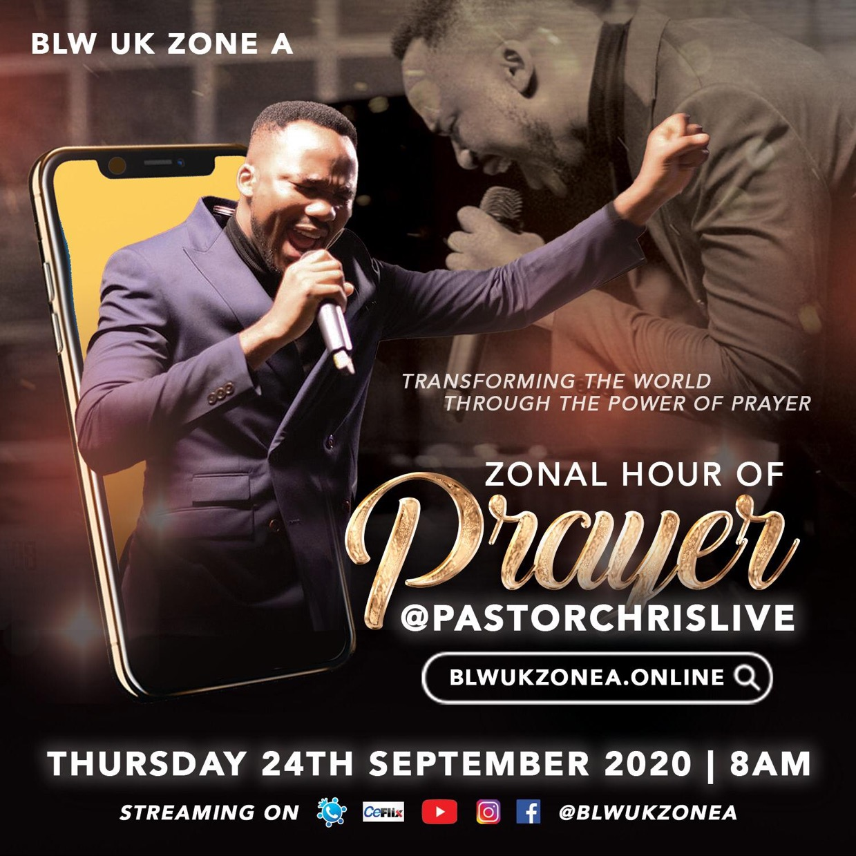 Are you registered ? #ZonalHourofPrayer