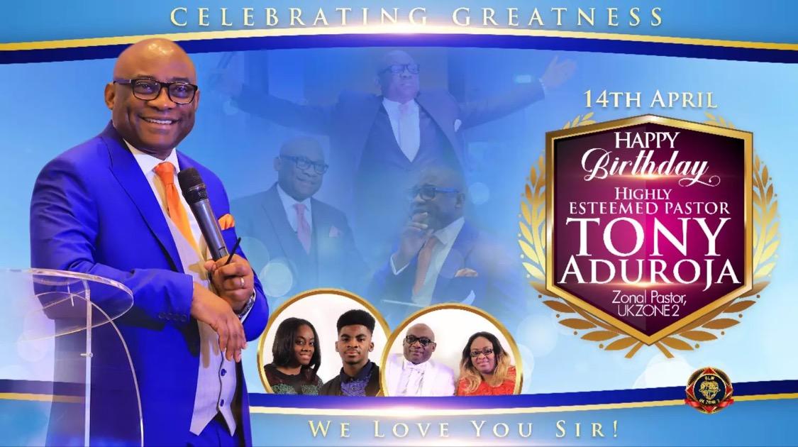 Happy birthday Pastor Sir. You