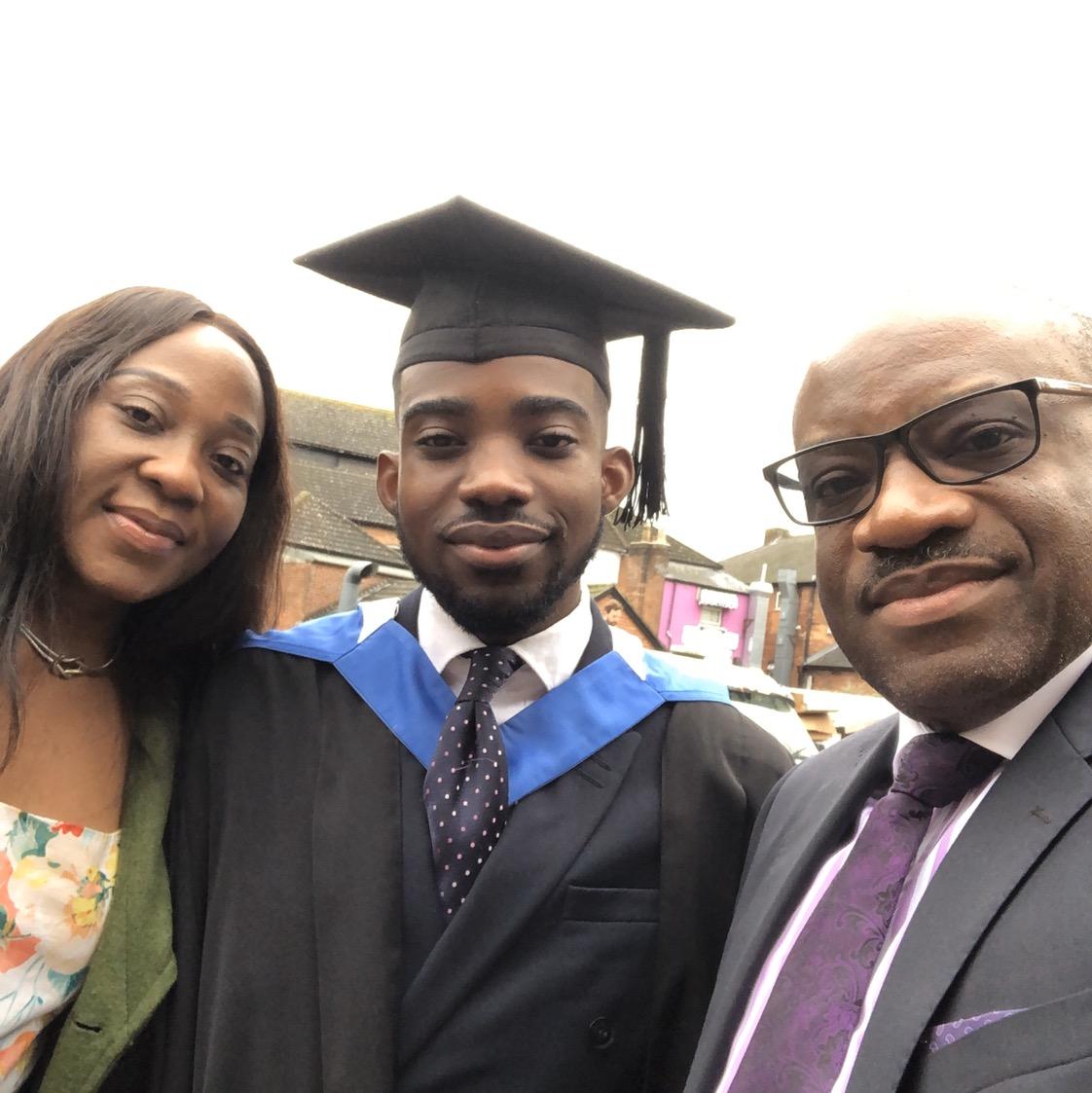 Congratulations to my son, Pastor