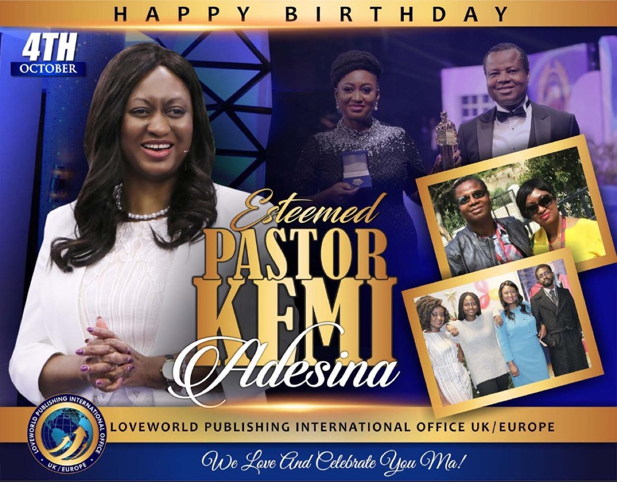HBD 🥳 esteemed Pastor Kemi