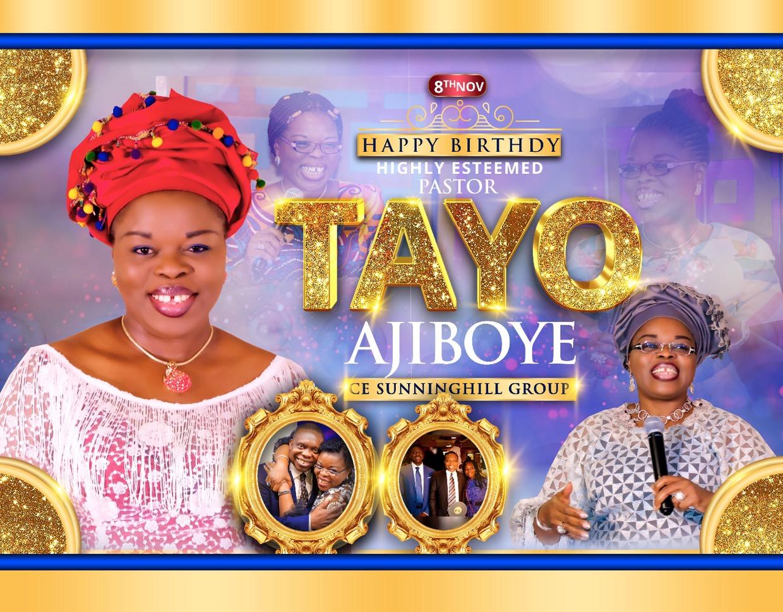 Happy Birthday Pastor Tayo Ma.