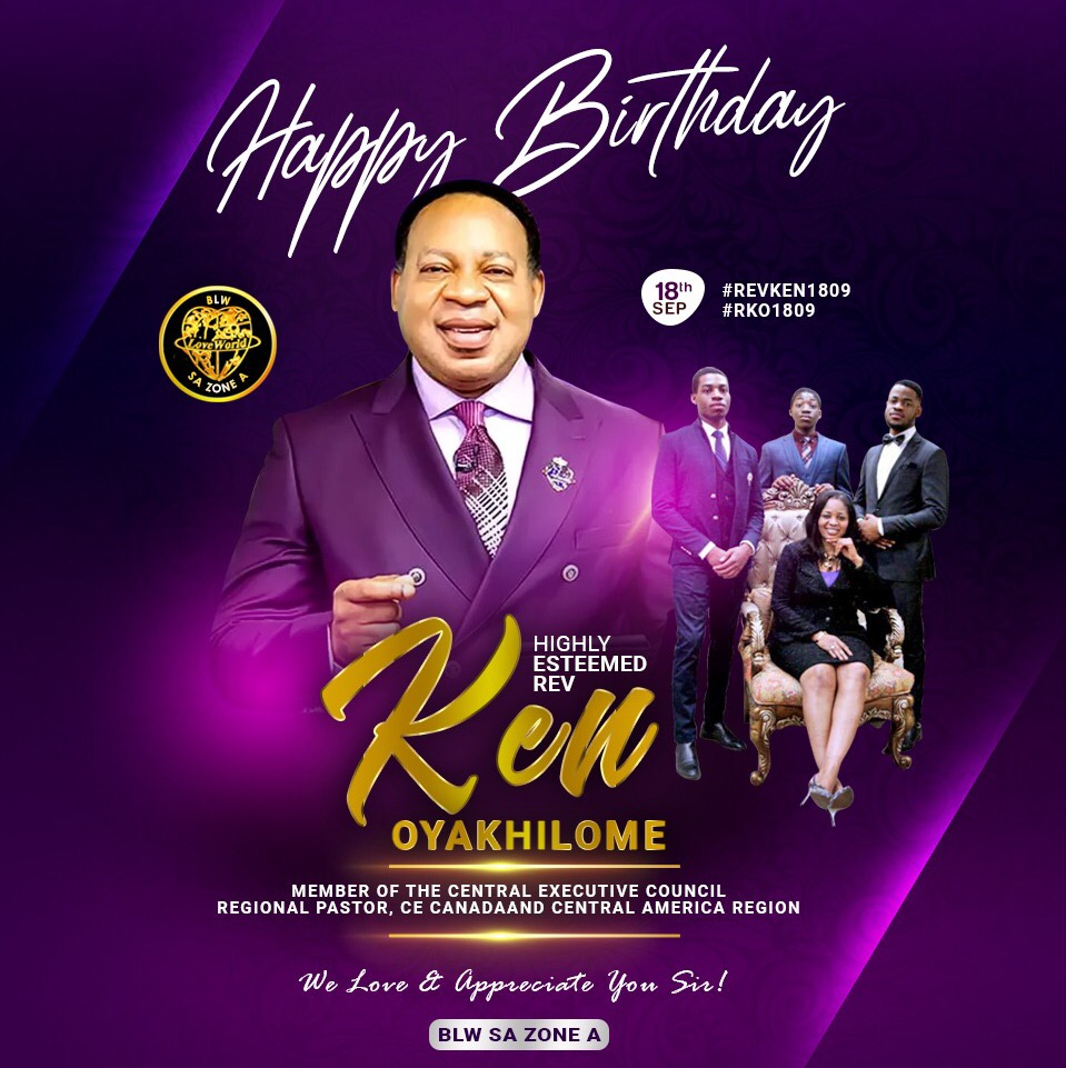 HAPPY BIRTHDAY HIGHLY ESTEEMED RKO