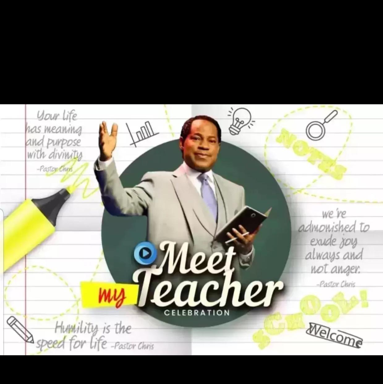My teacher is the best