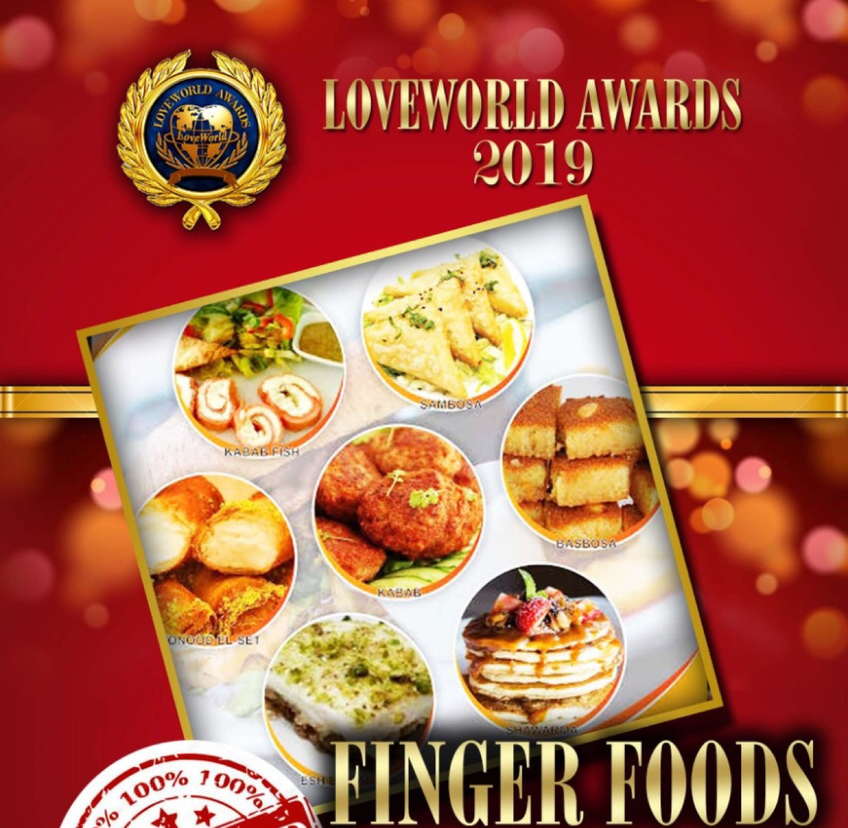 GET THE LOVEWORLD AWARDS RED