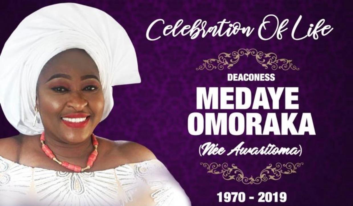 Dear Beloved Deaconess Meda. A