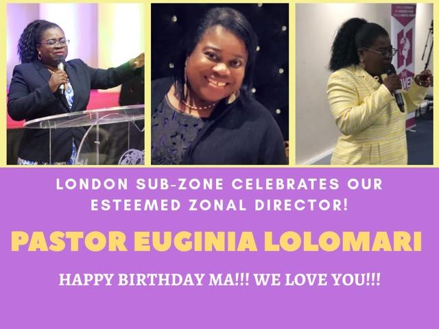 Happy Birthday Esteemed Zonal Director