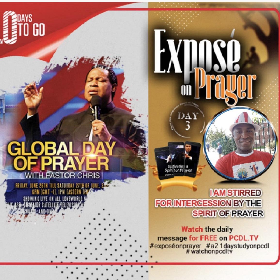 🙏*EXPOSÉ ON PRAYER DAY 3*