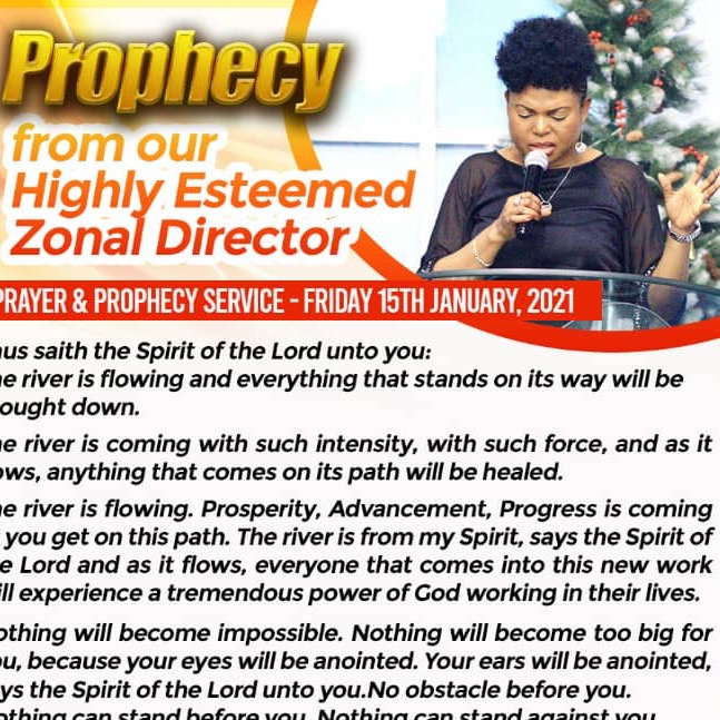 PROPHECY FROM OUR HIGHLY ESTEEMED