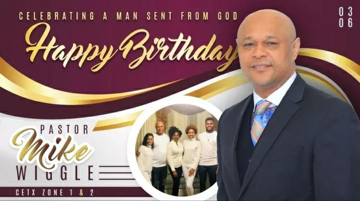 Happy Birthday dear Pastor Mike