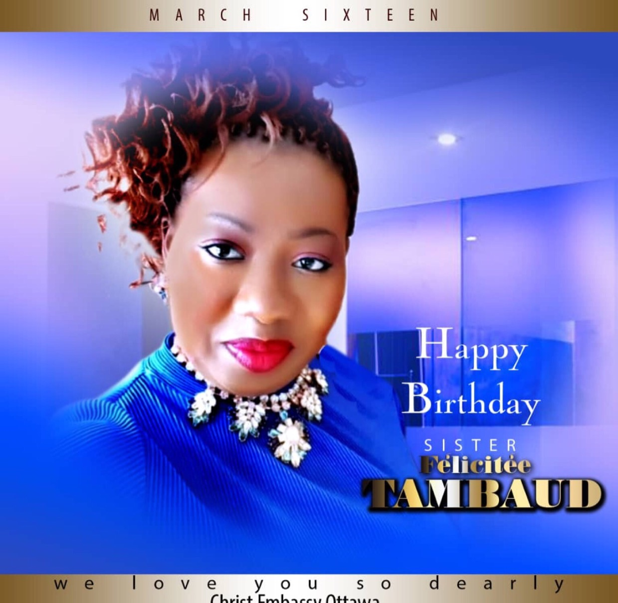 Happy Birthday Dear Sis Felicitee.