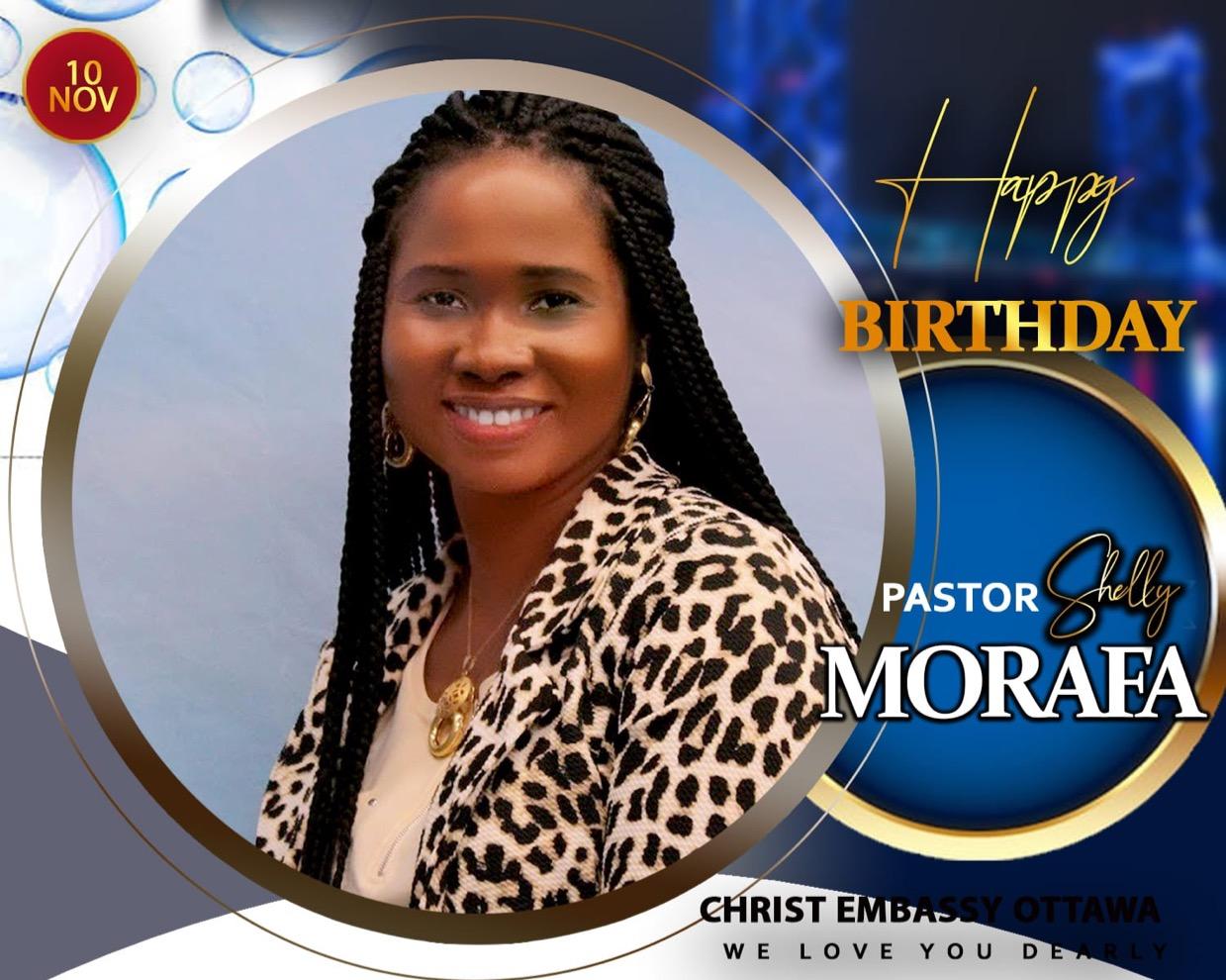 Happy Birthday Dear Pastor Shelly
