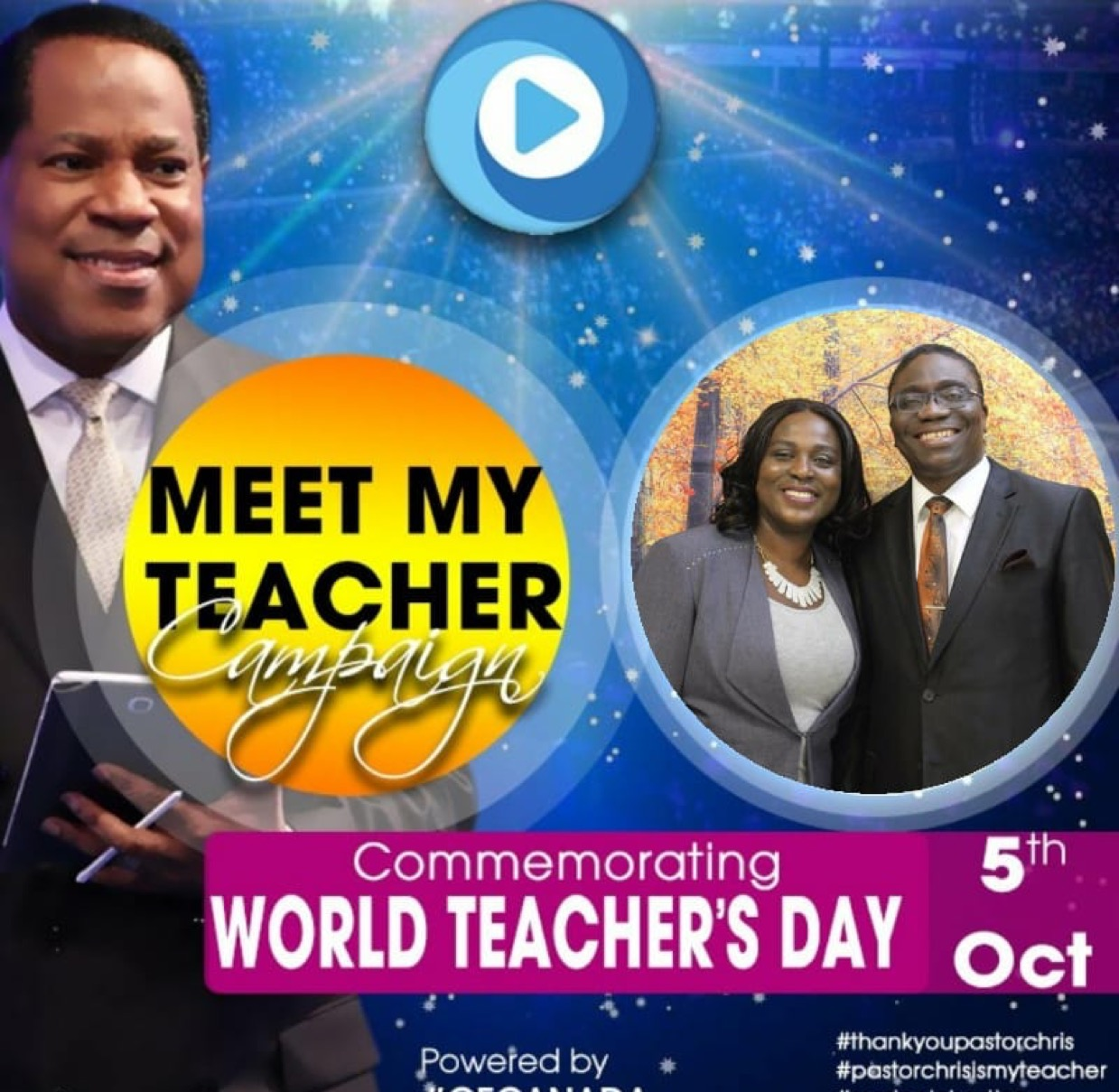 MEET MY TEACHER He has