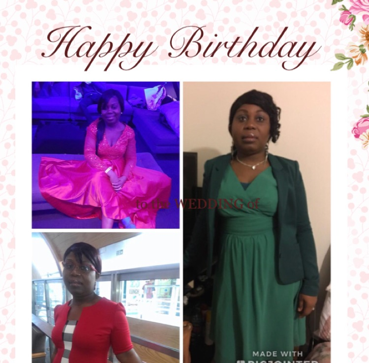 Happy birthday dear Sis Jolie.