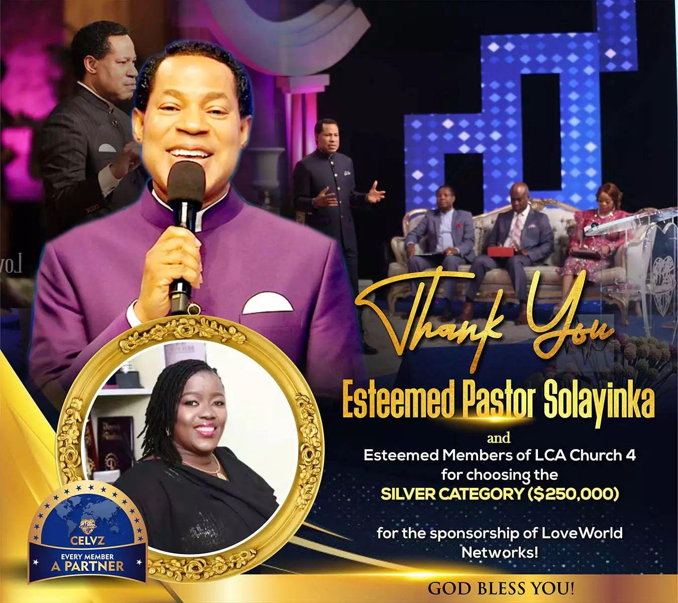 Congratulations Ma... Aheadship #church4