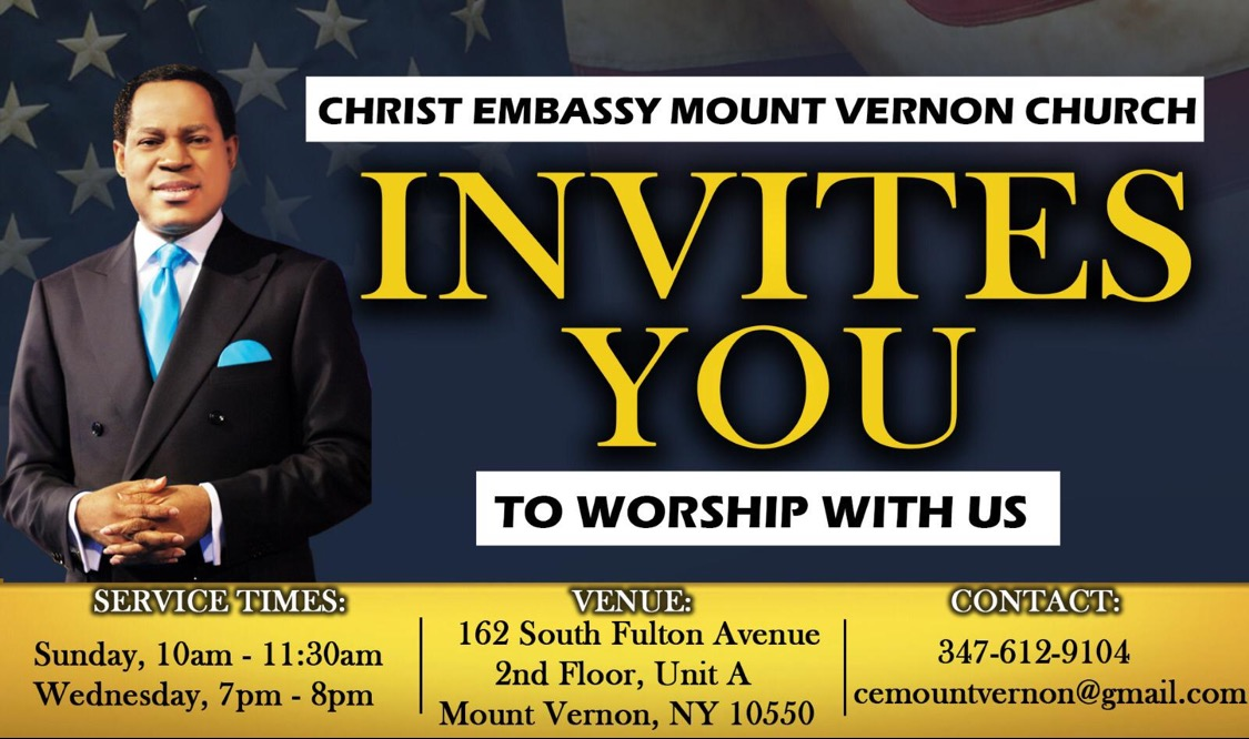 Introducing Christ Embassy Mount Vernon,