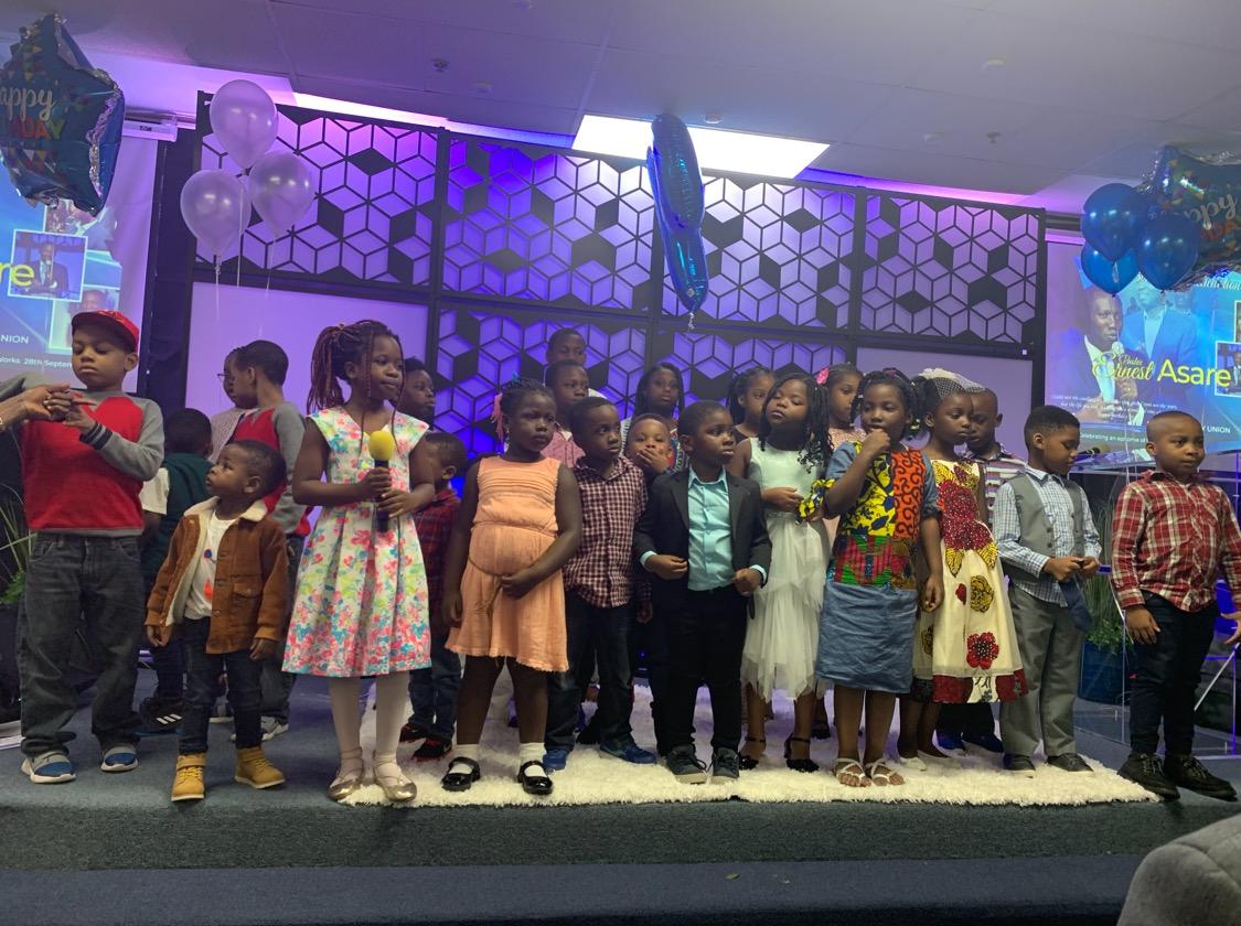 Celebrating dear Pastor Ernest with