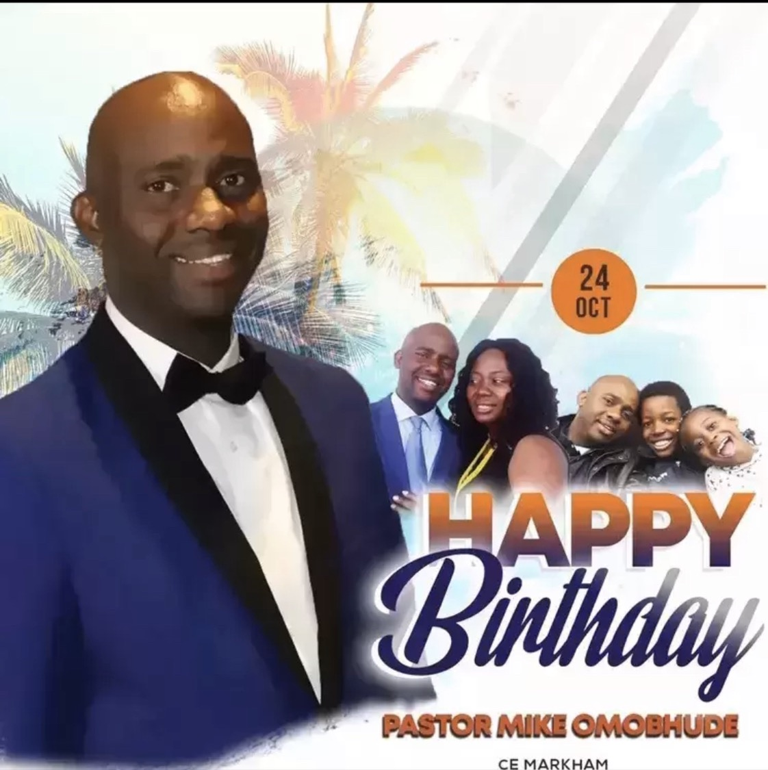 Happy Birthday dear Pastor Mike.