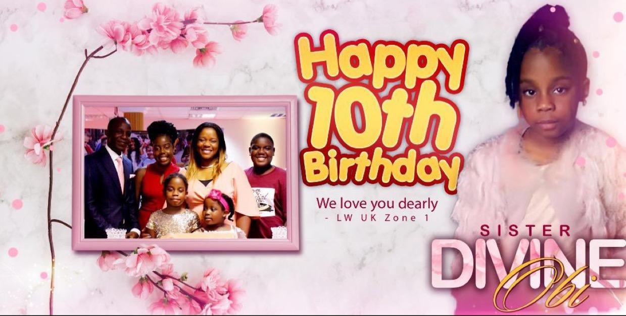 Happy Birthday sweet Divine! It's
