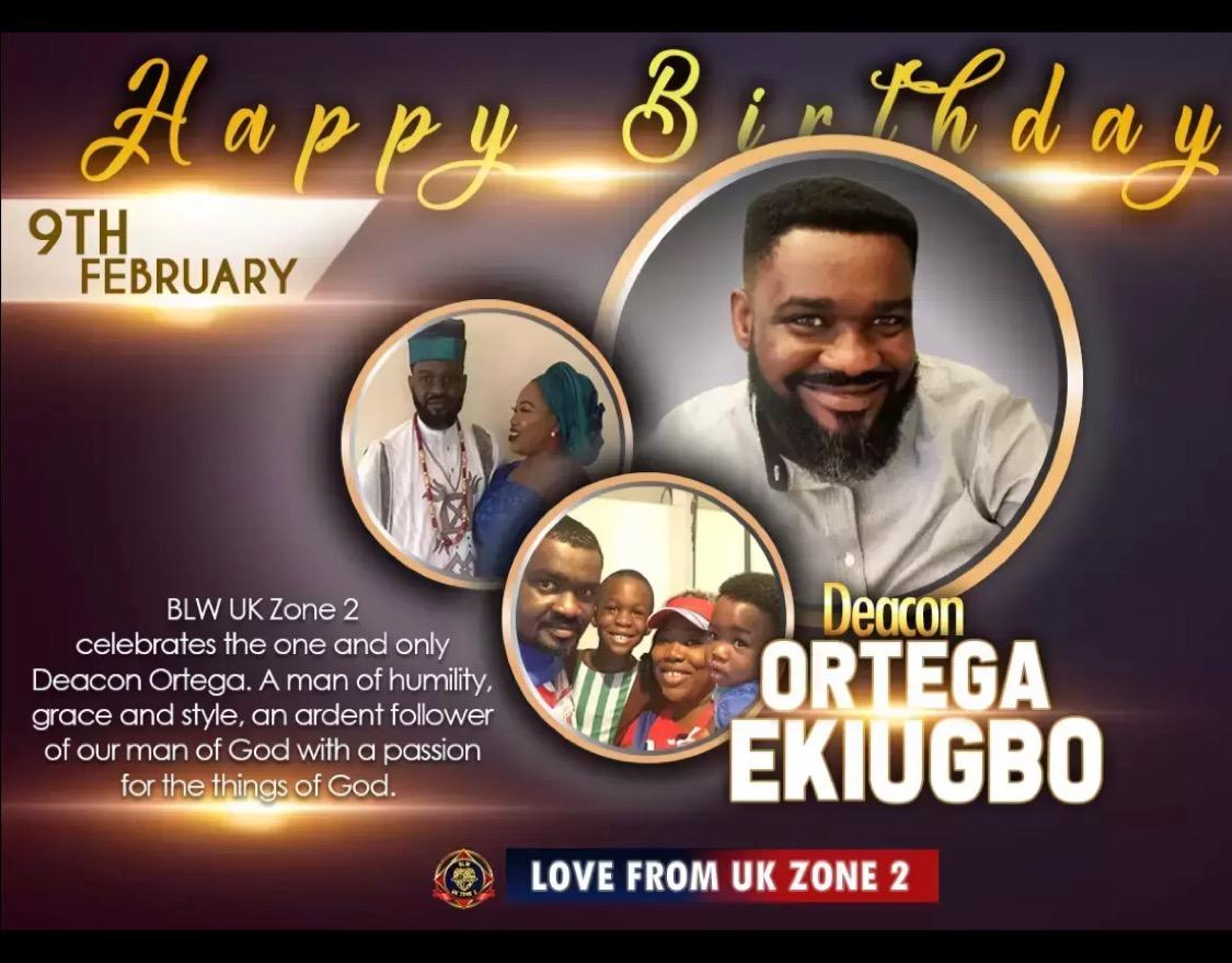 Happy birthday Dcn #prayerfornigeria #ukzone2
