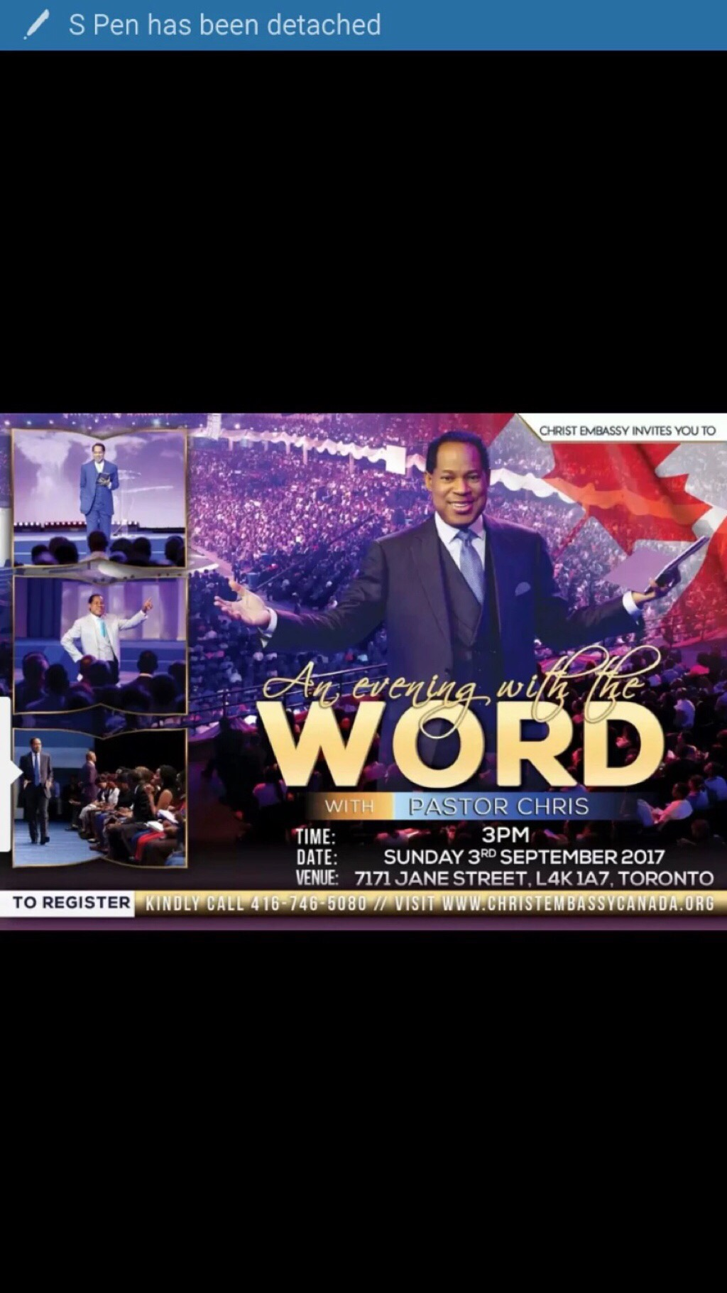 Evening with the word with
