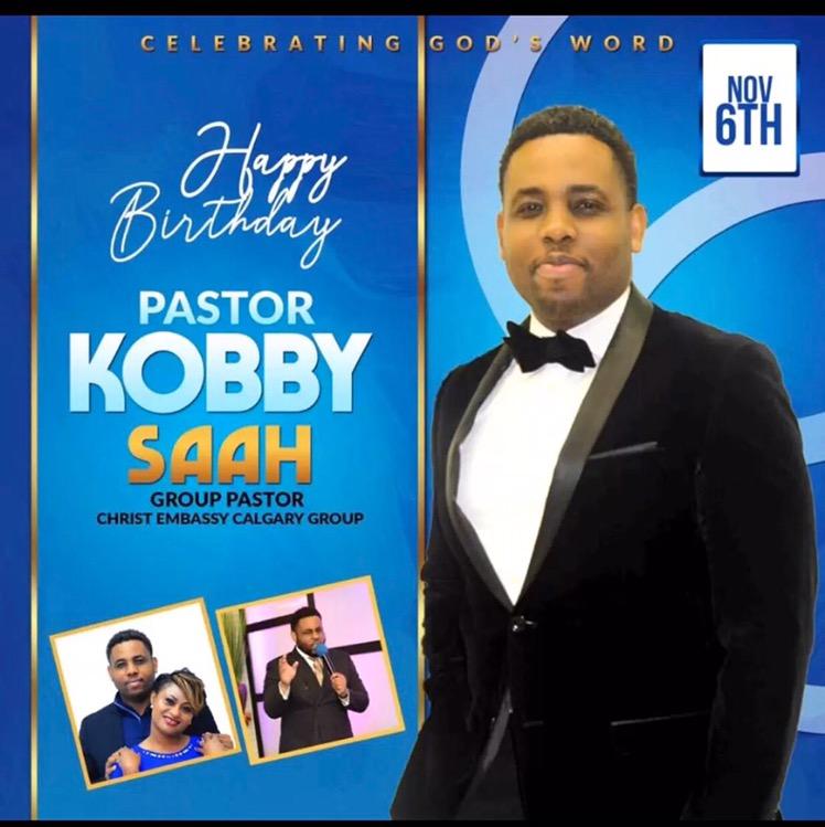 HBD highly esteemed pastor sir.